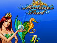 Автомат Mermaid's Pearl в Вулкан